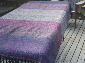 Mauve blanket